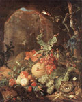 Heem, Jan Davisz de Still-life with Bird-nest Art Reproductions