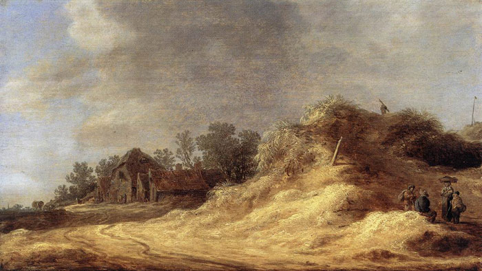 Dunes, 1629  Painting Reproductions