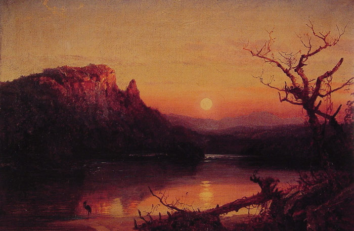 Sunset, Eagle Cliff, New Hampshire, 1867  Painting Reproductions