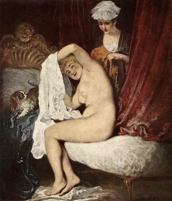 The Toilette  Painting Reproductions