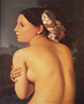 4172 Half-figure of a Bather, 1807 Art Reproductions