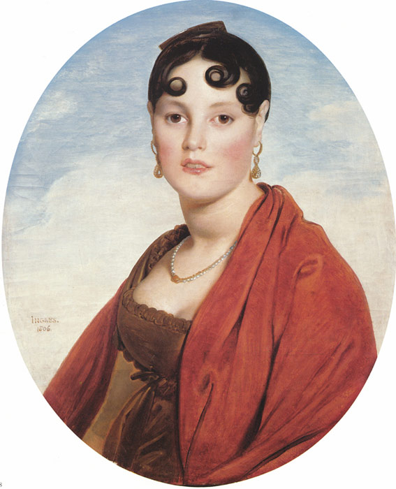 Madame Aymon, known as La Belle Zelie  Painting Reproductions