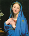 4200 Virgin of the Adoption, 1858 Art Reproductions