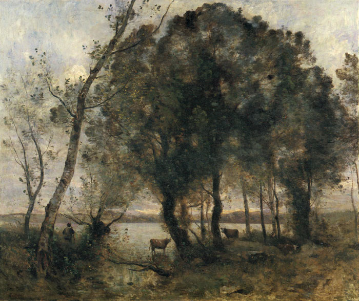 The Lake, 1861  Painting Reproductions