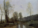 0 Canal in Picardi Art Reproductions