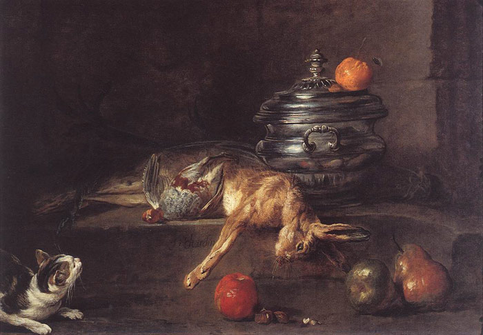 The Silver Tureen, 1728  Painting Reproductions