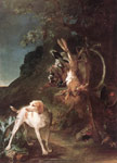 1635 Game Still-Life with Hunting Dog, 1730 Art Reproductions