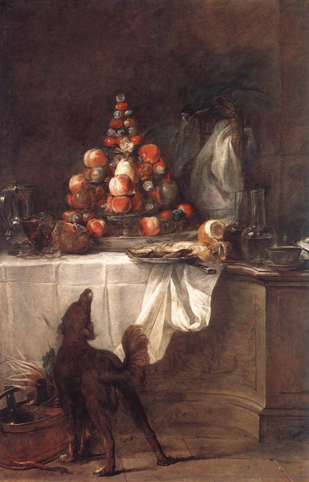 The Buffet, 1728  Painting Reproductions