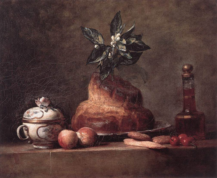 La Brioche [Cake], 1763  Painting Reproductions
