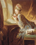 Fragonard, Jean- Honore The Love Letter, c.1770-1780 Art Reproductions