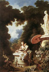 Fragonard, Jean- Honore The Confession of Love, 1771 Art Reproductions