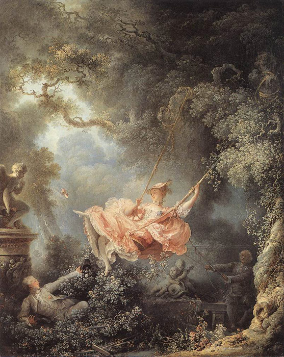 Rococo Paintings, Hand Painted on canvas