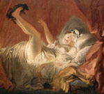 Fragonard, Jean- Honore Young Woman Playing with a Dog, 1765-1772 Art Reproductions