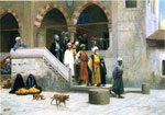 Gerome, Jean-Leon Leaving the Mosque , 1903 Art Reproductions