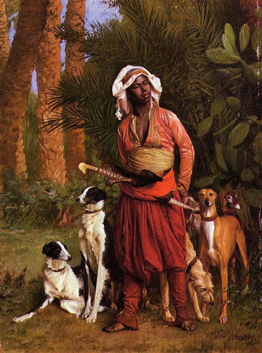 The Negro Master of the Hounds 	  Painting Reproductions