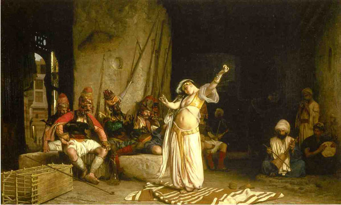 The Dance of the Almeh , 1863	  Painting Reproductions