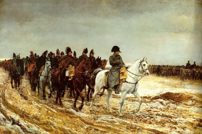 The French Campaign, 1861 Meissonier, Jean- Louis Painting Reproductions