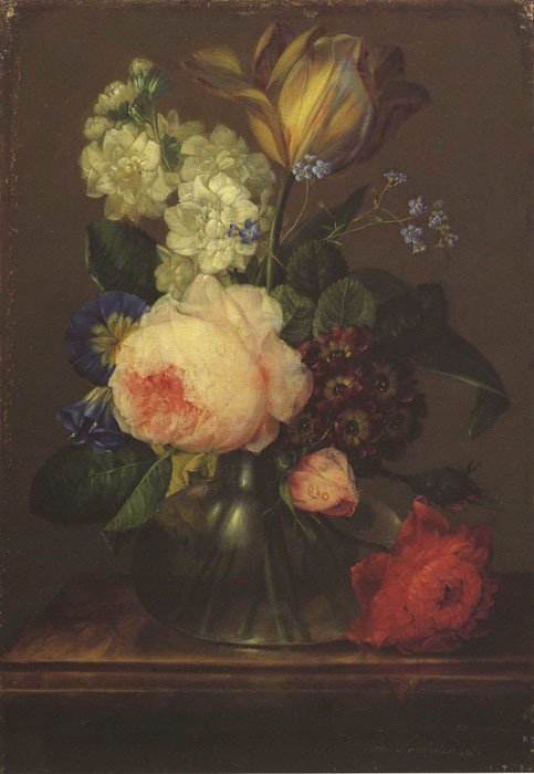Kleines Blumenstuck, 1805  Painting Reproductions