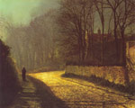 Grimshaw, John Atkinson The Lovers Art Reproductions