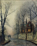 Grimshaw, John Atkinson November Moonlight Art Reproductions