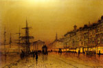 Grimshaw, John Atkinson Greenock, 1893 Art Reproductions