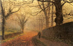 Grimshaw, John Atkinson November Afternoon, Stapleton Park, 1877 Art Reproductions