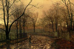 Grimshaw, John Atkinson Sixty-Years Ago Art Reproductions