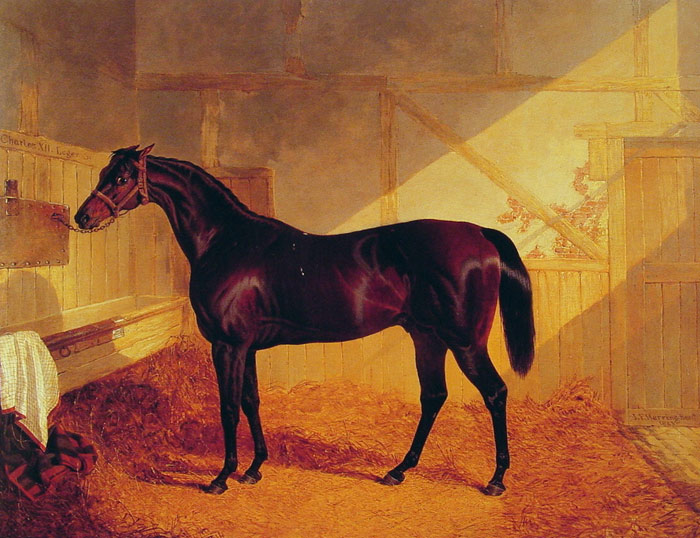 Mr Johnstone's  Charles XII in a Stable, 1843  Painting Reproductions