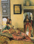 Lewis, John Frederick Life in the Harem, Cairo Art Reproductions