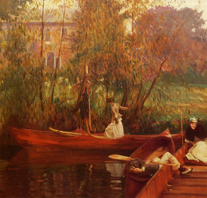 A Boating Party  Painting Reproductions