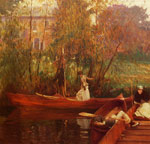 Sargent, John Singer A Boating Party Art Reproductions