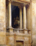 7497 A Window in the Vatican,  1906	 Art Reproductions