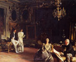 Sargent, John Singer An Interior in Venice, 1899	 Art Reproductions