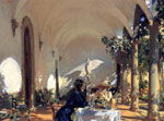 7510 Breakfast in the Loggia , 1910	 Art Reproductions
