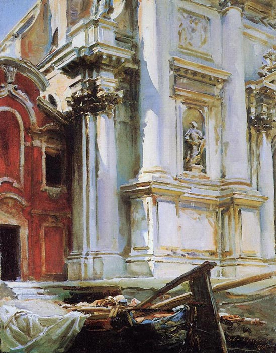 Church of St. Stae, Venice, 1913  Painting Reproductions
