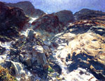0 Glacier Streams , 1909	 Art Reproductions