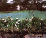 0 Landscape with Rose Trellis , 1886	 Art Reproductions