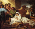 Copley, John Singleton The Nativity, 1776-1777 Art Reproductions