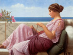 Godward, John William A Souvenir, 1920 Art Reproductions