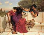 Godward, John William The Old, Old Story Art Reproductions