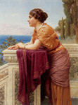 Godward, John William The Belvedere, 1913 Art Reproductions