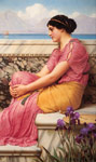 Godward, John William Absence Makes the Heart Grow Fonder, 1912 Art Reproductions