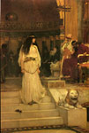 Waterhouse, John William Mariamne Leaving the Judgement Seat of Herod, 1887 Art Reproductions