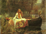 Waterhouse, John William The Lady of Shalott, 1888 Art Reproductions