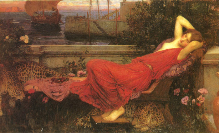 Ariadne, 1898  Painting Reproductions