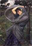 Waterhouse, John William Boreas, 1902 Art Reproductions