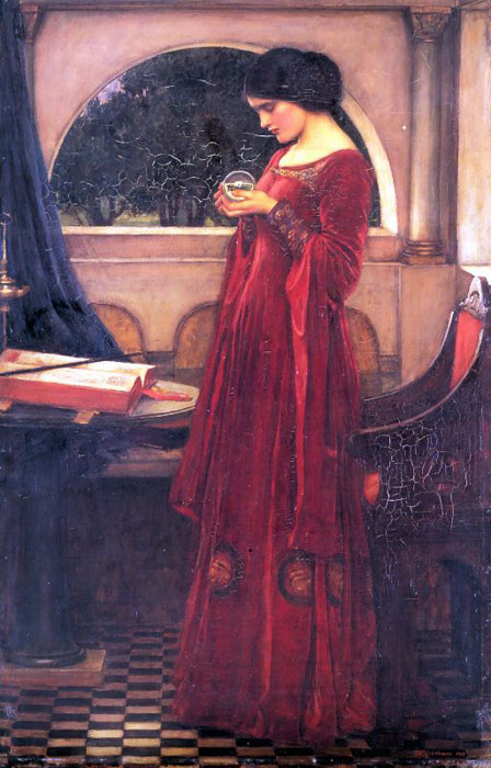Crystal Ball, 1902  Painting Reproductions