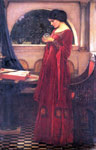 Waterhouse, John William Crystal Ball, 1902 Art Reproductions