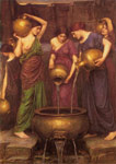Waterhouse, John William The Danaides, 1904 Art Reproductions