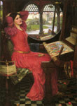 Waterhouse, John William I am Half-sick of Shadows, said the Lady of Shalott Art Reproductions